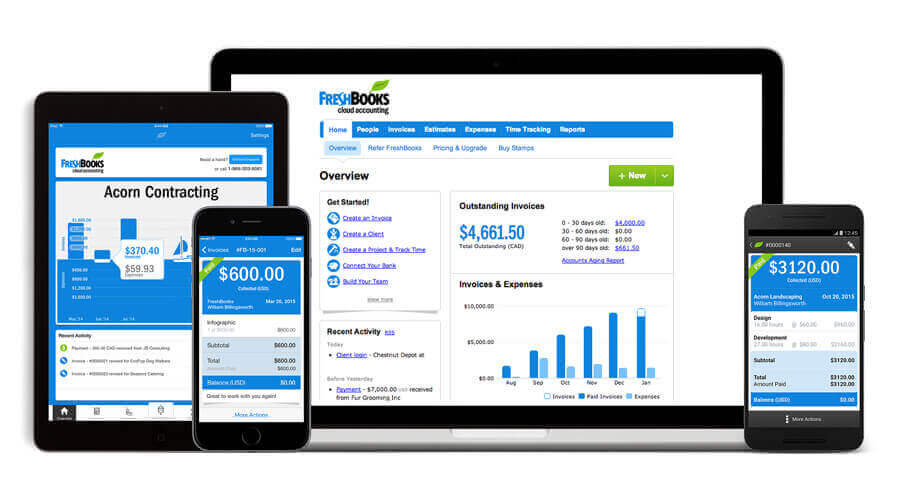 freshbooks cloud based accounting tool