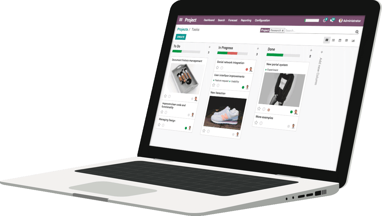 Odoo Project Mgt banner