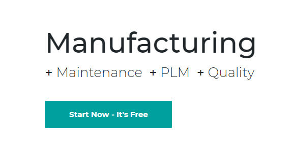 Odoo Manufacturing software