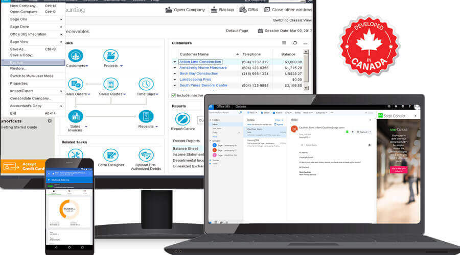 Sage 50cloud accounting solution