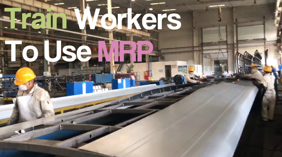 How to Train the Factory Staff to Use MRP