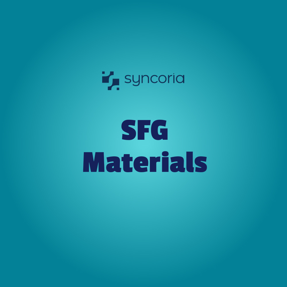 What are SFG Materials and How They Work in Manufacturing Production?