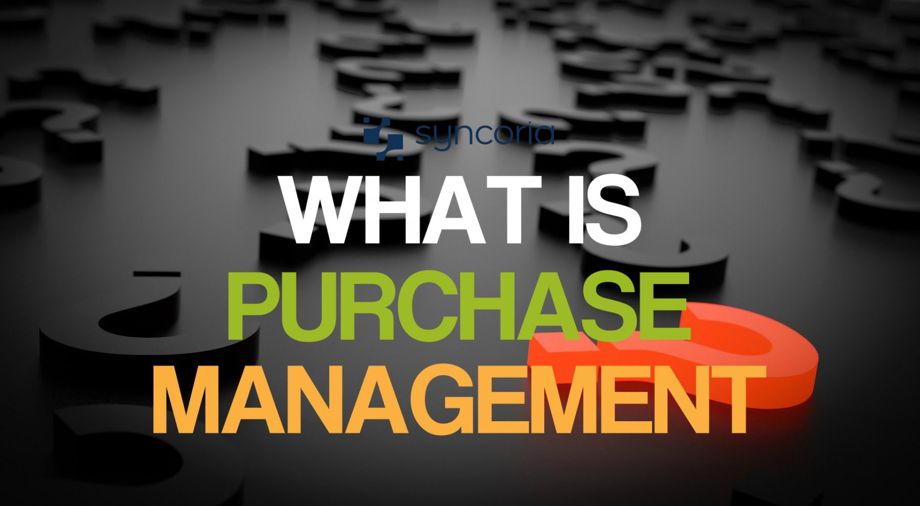 what is purchase management