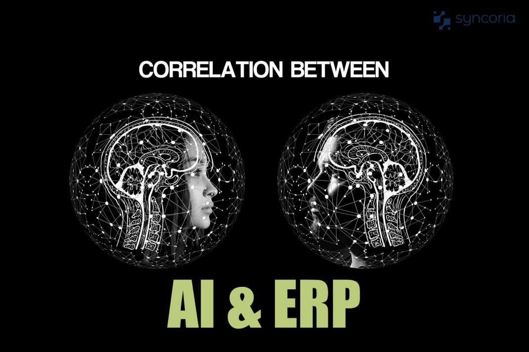 Correlation between AI and ERP