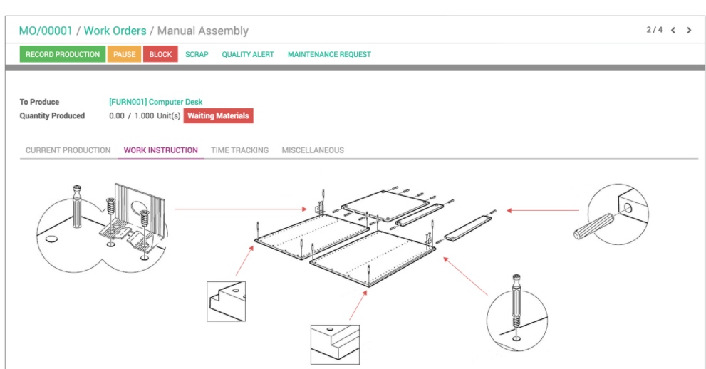 1.7 - How Can I Use Odoo Modules for Manufacturing Planning? - Syncoria Inc.